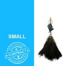 The Contract 16 - 16 inch black feathered duster