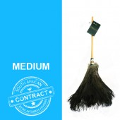 The Contract 20 - 20 inch black feathered duster