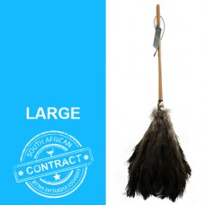 The Contract 28 - 28 inch black feathered duster