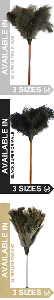 Largest Choice of Ostrich Feather Dusters