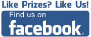 Like Prizes? Like Us! Find us on Facebook