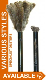 Specialist Ostrich Feather Dusters