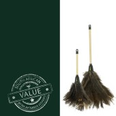 Value Duo - 14 & 20 inch brown duster