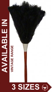 Vintage Range of Ostrich Feather Dusters, Ideal for Business