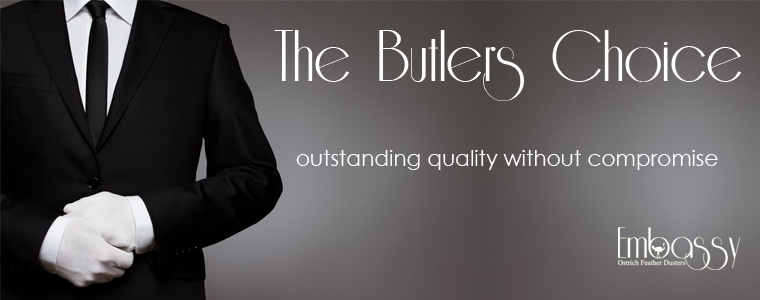 Embassy Ostrich Feather Dusters - The Butlers Choice