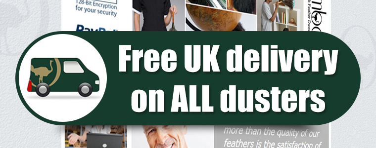 A Free UK delivery on ALL dusters